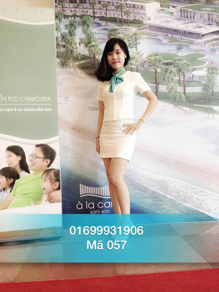 PG sự kiện Hà Thanh Hằng