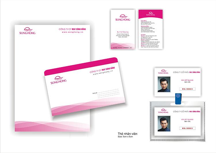 Thiết kế bộ nhận diện thương hiệu văn phòng