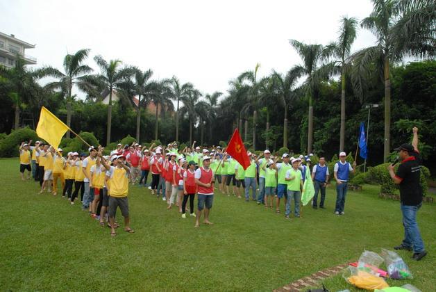 Tổ chức teambuiding ấn tượng nhất Hà Nội