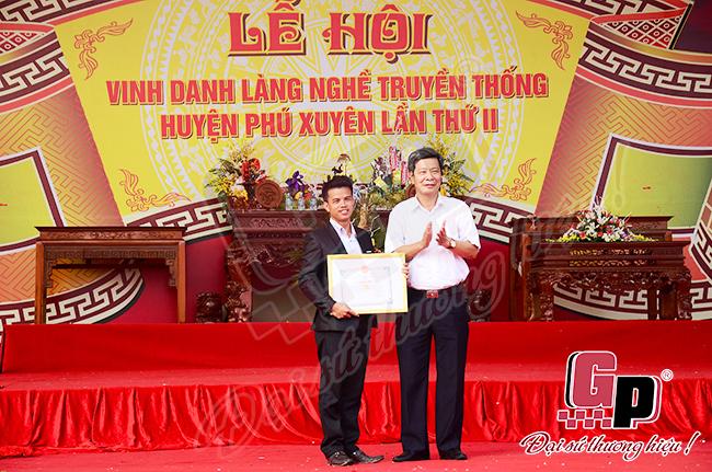 lễ hội vinh danh làng nghề phú xuyên