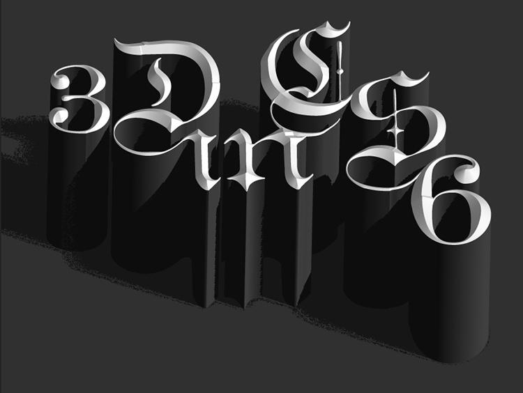 Thiết kế hình hiệu 3D - 2D