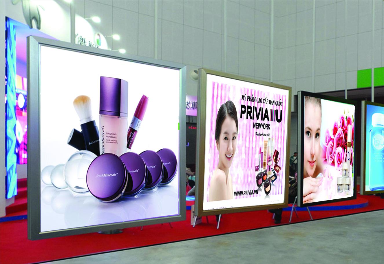 Thi công hộp đèn quảng cáo chất lượng tại Hà Nội
