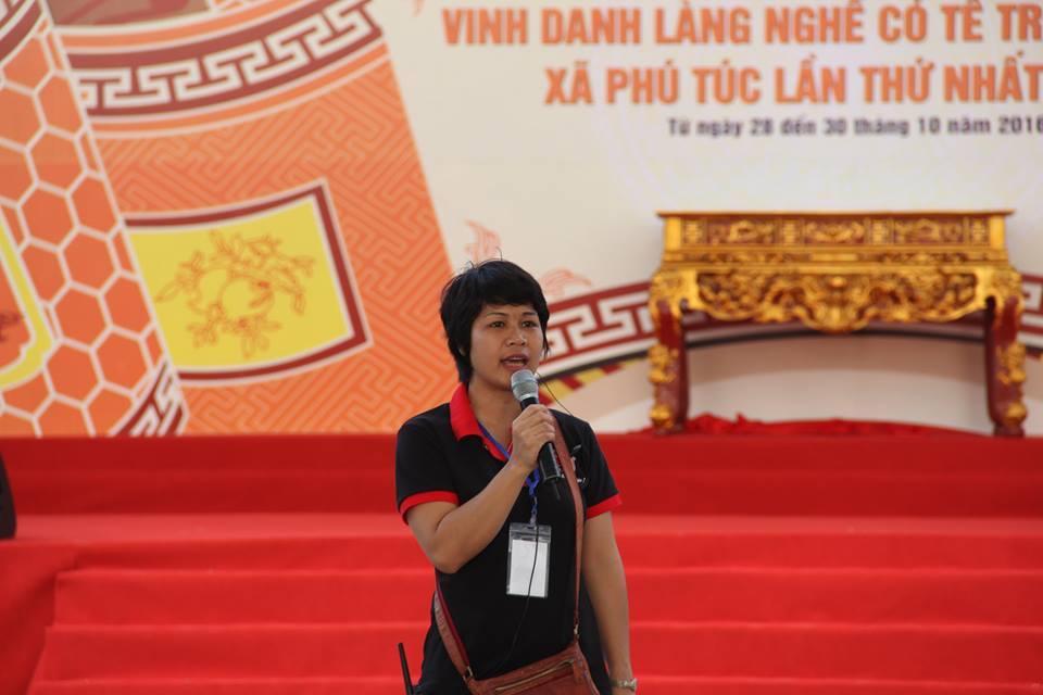 Chia sẻ của tổng đạo diễn Nguyễn Phương Lâm về quy mô, tính nghệ thuật của Lễ hội vinh danh làng nghề truyền thống huyện Phú Xuyên lần thứ III -2017