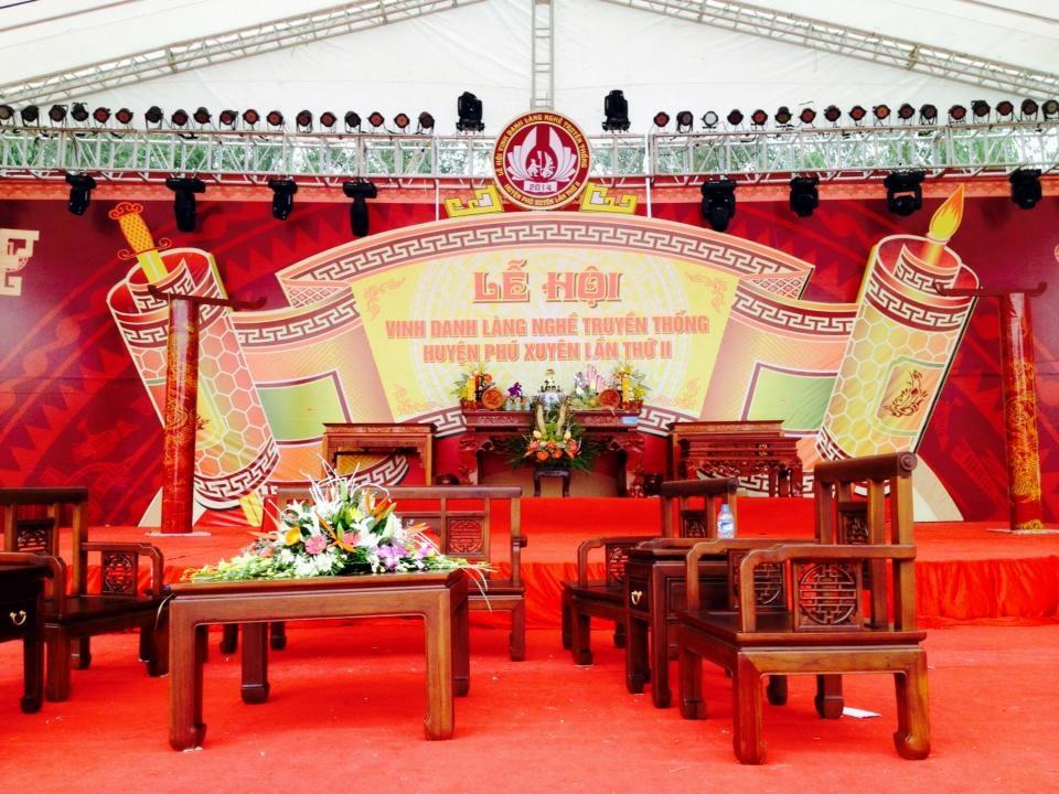 Lễ hội Vinh danh làng nghề truyền thống Cơ hội vàng cho giao thương hàng hóa