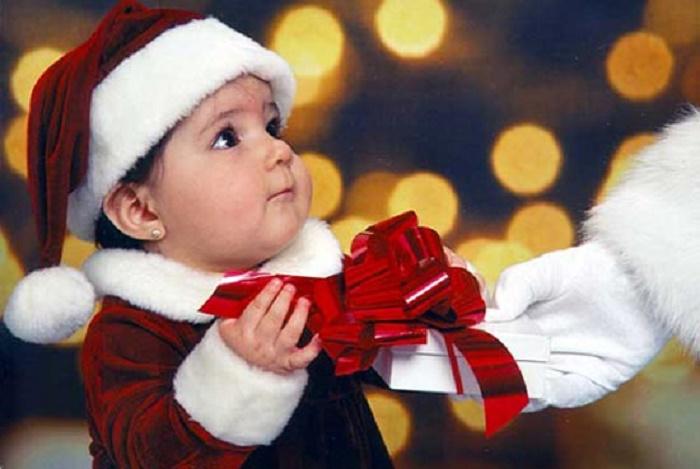 Quà Giáng sinh cho con