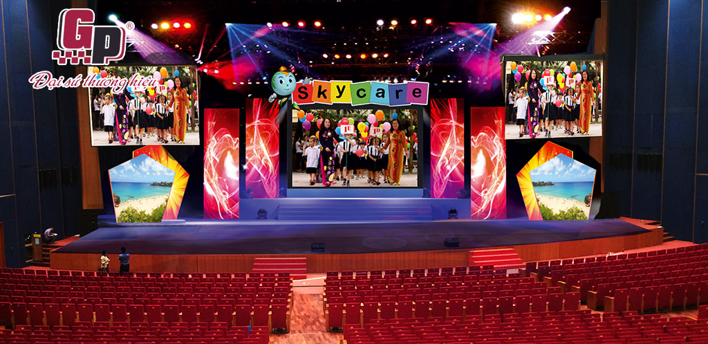 Thiết kế, thi công sân khấu sự kiện chuyên nghiệp