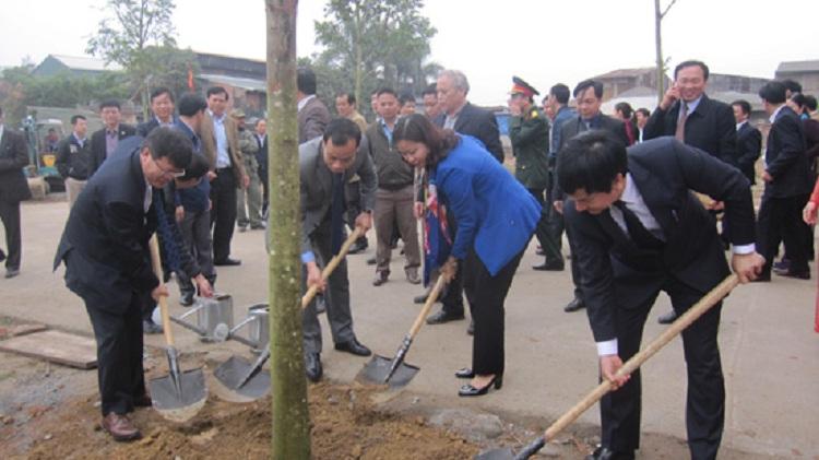 Tổ chức lễ phát động tết trồng cây đầu xuân