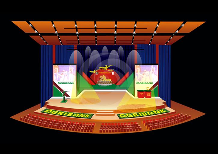 thiết kế sân khấu chuyên nghiệp