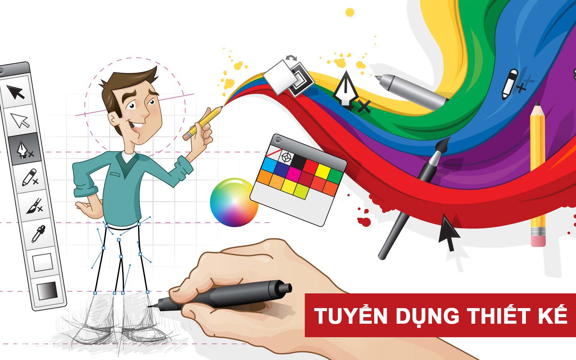 Tuyển dụng 02 nhân viên Thiết kế đồ họa 2D - 08/2019